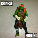 Teenage mutant ninja turtles TMNT 2014 michelangelo movie figure loose bootleg (1)